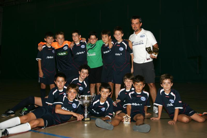 Los alevines vencieron en el XI Trofeo Ciudad de Alcorcón