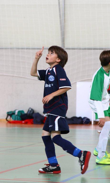 Samu dedica uno de sus goles